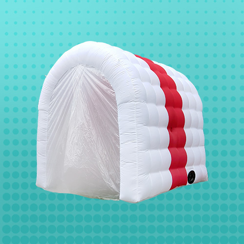 CH Inflatable channel spray Fast delivery movable Inflatable Fogging Disinfection tunnel for mall entrance