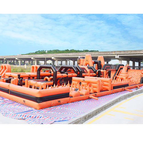 Outdoor Obstacle Course InflatableObstacle for Adult