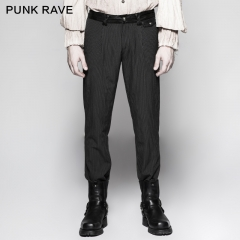 Pinstripe Simple Steampunk Trousers