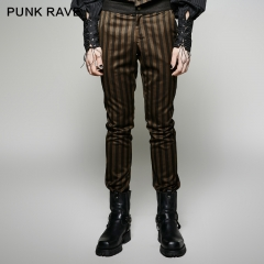 SteamPunk Rugged Stripes Pant