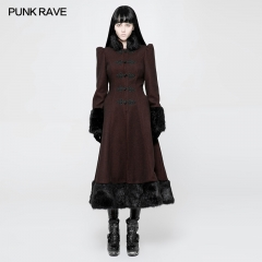 Gothic Daily Magic Woven Medium-length Coat