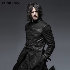 Punk killer buckle man outer coat