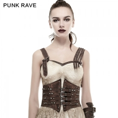 Buckle Loops Steampunk Girdle