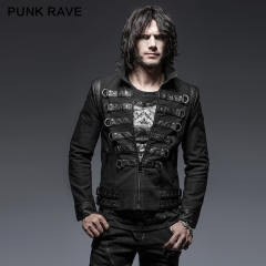 Punk handsome soldier jackets
