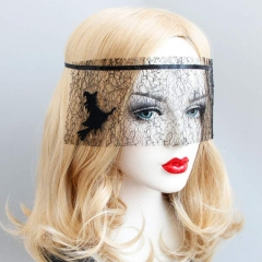 Gothic Witch Mesh Funny Sexy Mask
