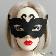 Black Gothic Prom Party Butterfly Mask