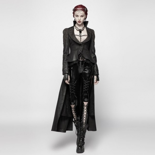 Gothic Dark Coat | Punk Rave