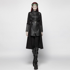 Punk Warrior Long Coat | Punk Rave