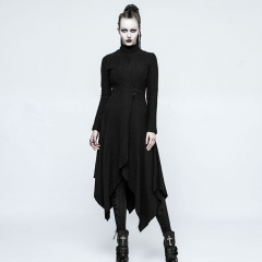 Gothic Witch Asymmetry Jacket | Punk Rave