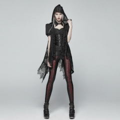 Gothic Daily Lace Vest | Punk Rave