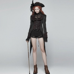 Gothic Dress Swallow Tail Coat | Punk Rave