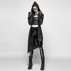 Punk Asymmetric Hem Jacket | Punk Rave