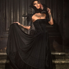 Gothic Gorgeous Prom Dress