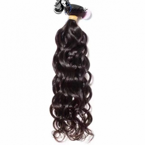 Yofo Hair 3 Bundles Brazilian Virgin Hair  Weave Bundles 10A Natural Wave 100% Unprocessed Human Hair Extension Free Shipping