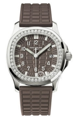 NOOBWRISTWATCH BEST REP PPF PATEK PHILIPPE 35.6MM AQUANAUT 5067A-023  WOMENS WATCHES