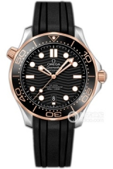 NOOBWRISTWATCH BEST 2019 NEW VSF 42 MM SEAMASTER DIVER 300M OMEGA CO‑AXIAL MASTER CHRONOMETER 210.22.42.20.01.002 TWO TONES MENS WATCH