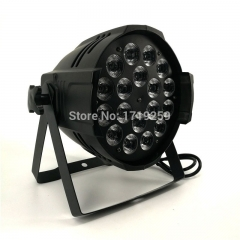 4pcs/lot LED Par 18x15W RGBWA Light DMX Stage Lights Business Lights Professional Par Can for Party KTV Disco DJ Uplighing