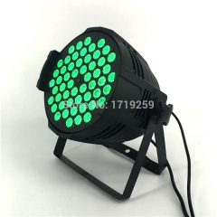 54x9W RGB LED Par Light DMX Stage Lights Par Can for Party KTV Disco DJ Aluminum alloy,and LED Par  Windmill  Lighting