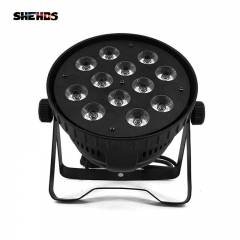 SHEHDS (Small) Aluminum alloy LED Par  12x12W RGBW  Lighting With DMX512 for Disco DJ Party Decoration Stage Lighting