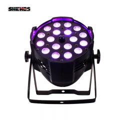 SHEHDS LED Zoom Par 18x18W RGBWA UV  Lighting For Stage Effect