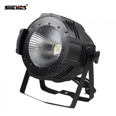 Led COB Blinder 100W Par Light RGBW 4in1 With DMX512 Professional Stage Lighting Fixer Cable
