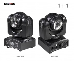 SHEHDS LED Beam Wash Double Sides RGBW For Stage Effect