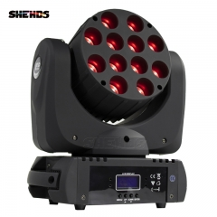 LED Beam 7x12W/12x12W /36x3 RGBW Moving Head Lighting