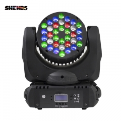 LED Beam 36x3W RGBW Moving Head  Lighting For Stage Effect