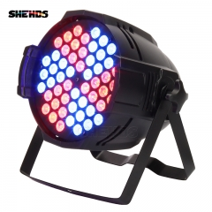 SHEHDS Aluminum Alloy LED Par  54x9W RGB Windmill  Lighting