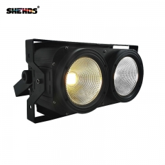 SHEHDS Combination 2Eyes 200W LED COB Blinder Cool White + Warm White Lighting