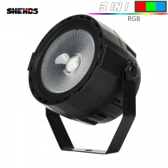 LED Par COB 30W RGB Mixed DMX512 Stage Effect Lighting Good For DJ Disco Home Birthday Party Nightclub
