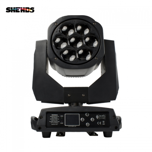 Novelties LED Beam Wash Big Bees Eyes 7x15W RGBW  4in1 Moving Head  LED Quad Dj Light Bowling Centers Dj Disco Laser Lights