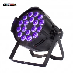 Aluminum Alloy LED Par 18x18W RGBWA+UV 6in1/18x12 RGBW 4in1 Stage Lighting LED Spotlight