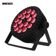 Aluminum Alloy LED Par 18x12W  4in1/ 18x18W  6in1 LED Par Can Led Par Light DMX Stage Lights or Party KTV Disco DJ Lamp