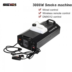 Smoke Machine 3000W DMX512 Wire And Wireless Remote  Bar