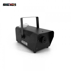 New Arrive Fashional  Hot Sale Aluminum Alloy Mini 400W Fog Machine Remote Control Pump DJ Disco Smoke Machine