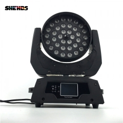 LED Wash Zoom 4in1/5in1/6in1 RGBW Moving Head Lighting(Touch screen)