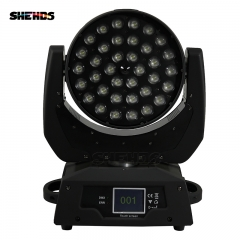 LED Wash Zoom 4/5/6 IN 1 RGBW Moving Head Lighting(Touch screen)