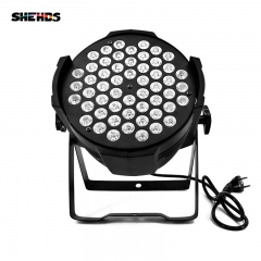 LED 54x3W RGB / 54x9W  Par Light DMX Stage Lights Par Can for Party KTV Disco DJ Aluminum alloy