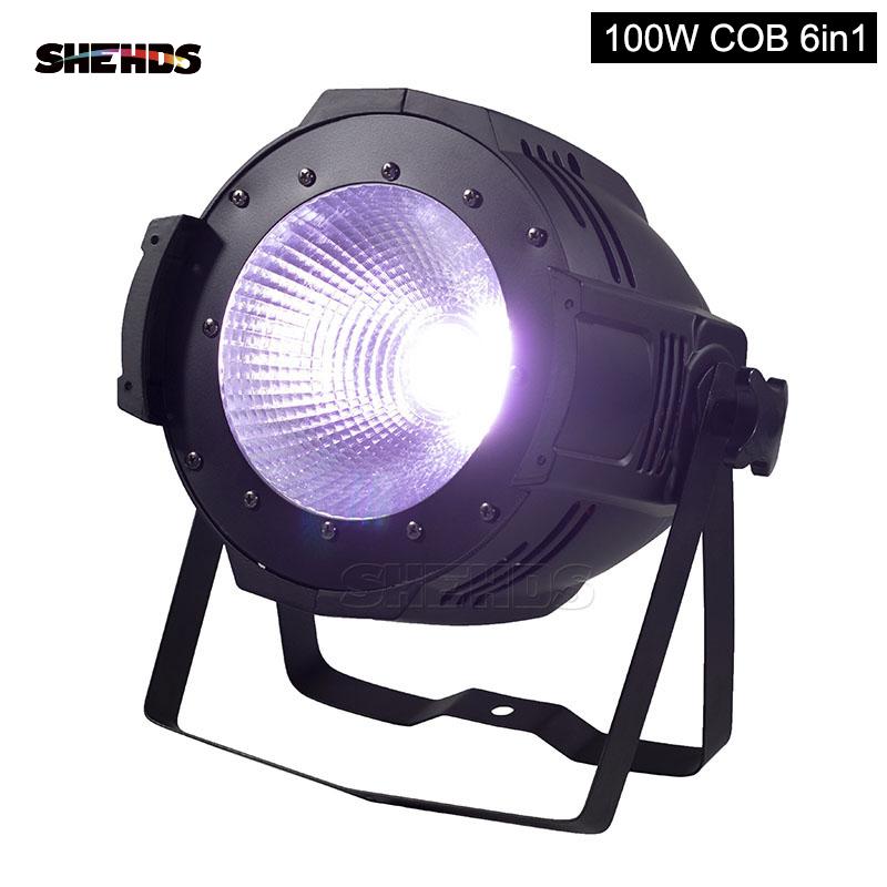 LED Par COB 100W RGBW 4IN1 / RGBWA+UV 6IN1 Lighting Free Shiping