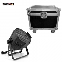 LED Par Can 54x3W Lighting  With Flightcase with 2/4/6/8pcs For Professional Light DJ disco  Led Stage Lighting