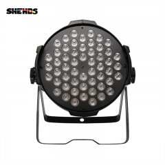 Aluminum Alloy Aviation Plug LED Par 54x9W RGB LED Lighting DMX512  DJ Stage Light Design