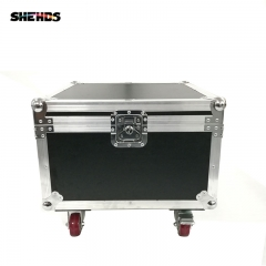 Flight Case with 4 pieces LED 6x15W RGBW Bee Eye Stage Beam+ Wash Light effect 11/14 Channels Beam Light Party Disco Show
