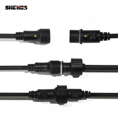 Waterproof DMX Cables Suitable For Waterproof Series Stage Lighting Par Light