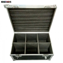 Flight Case with LED Par COB 200W  RGBWA+UV 6IN1/4in1/ Blinder Lighting