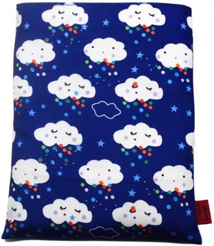Book Sleeve Clouds Book Cover Medium Book Sleeves Teen Gift (Medium)