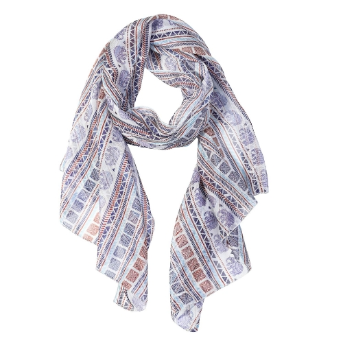 Elephant Women Scarves Lightweight Shawl Head Wraps