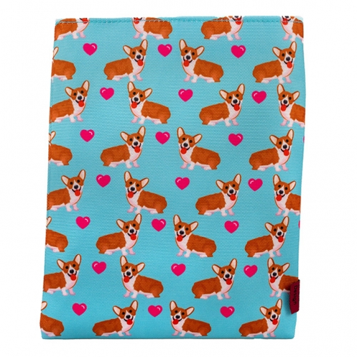 Corgi Dog Book Sleeve Book Cover Book Sleeves Teen Gift
