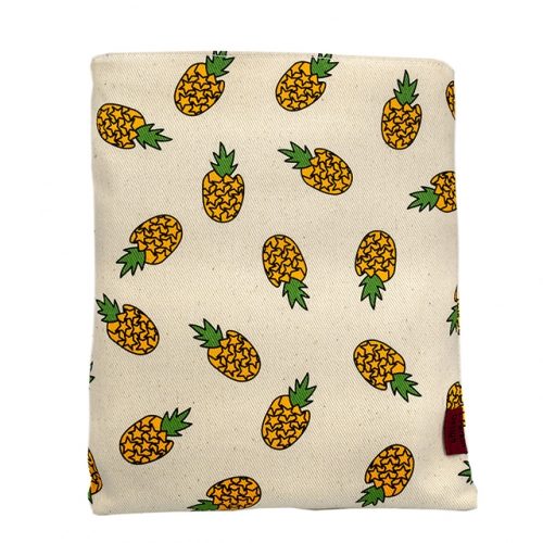 Pineapple Book Sleeve Book Cover Small Book Sleeves Teen Gift