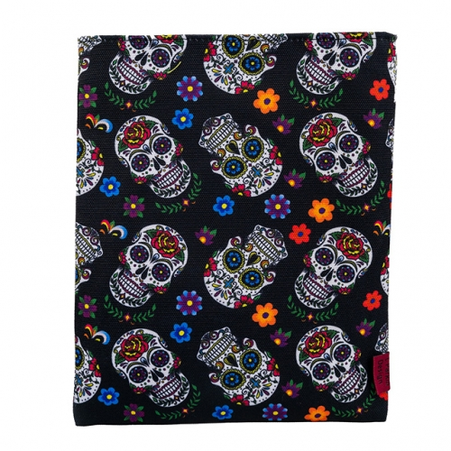Sugar Skull Book Sleeve Book Cover Book Sleeves Teen Gift